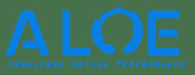 ALOE Logo blue